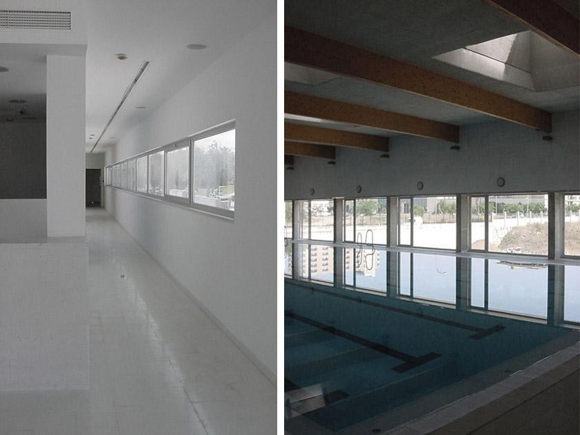 Toni Servera, piscina municipal
